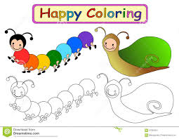 coloring book for kids stock illustration image 57955051