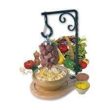 potence cuisine potence à viande cuisine masselotte standard longueur 14cm bron