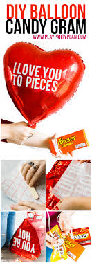 balloon grams s day gift for him easy diy balloon candy gram