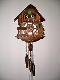 Antique Cuckoo Clock Vintage Cuckoo Clock Made In Germany It Sings U0027edelweiss