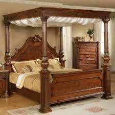Wood Canopy Bed Frame Building Canopy Bed Frame Montserrat Home Design