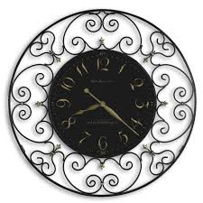 60s Clock Wrought Iron U0026 Metal