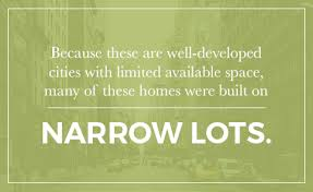 a guide to urban house plans for narrow lots nelson design group