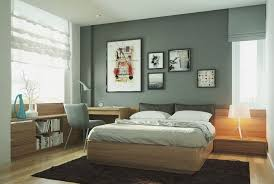 Ideas For Apartment Walls Framed Art Painting In A Modern Apartment Bedroom Design With