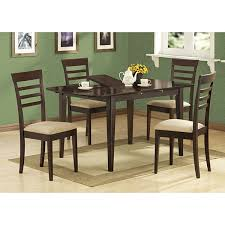 Cappuccino Dining Room Furniture Cappuccino Wood Butterfly Leaf Dining Table Free Shipping Today