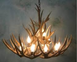 chandelier antler table lamp murano glass chandelier deer horn