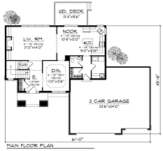 traditional style house plan 4 beds 2 50 baths 2100 sq ft plan