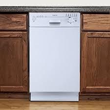 Dishwasher Size Opening Amazon Com Frigidaire Ffbd1821mw Built In Full Console Dishwasher