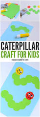 caterpillar craft paper circle crafts for kids easy peasy and fun