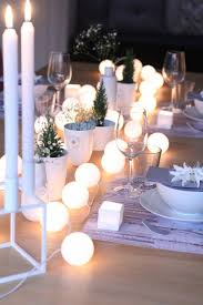 christmas tabletop decoration ideas 25 unique ways to decorate with string lights tablescapes