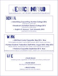 Copywriting Resume Check Out My Street Cred U2013 Jessica Mifsud Copywriter