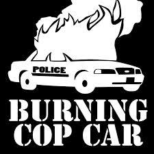 car logo black and white burning cop car 3 u2013 sub media