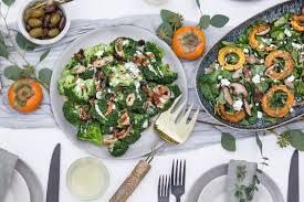 broccoli salad with crispy shallots and coconut bacon le petit eats