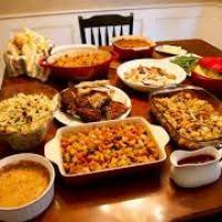 Traditional Thanksgiving Meal Thanksgiving Food On Table Bootsforcheaper Com