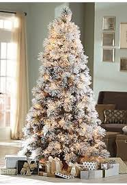 stylish decoration 7 5 white tree pre lit slim virginia