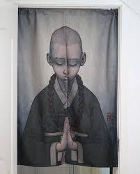 Creative Curtain Hanging Ideas Aliexpress Com Buy Zen Cotton Linen Room Partition Divider