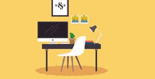 dans bureau des espaces de travail le bonheur est dans le bureau