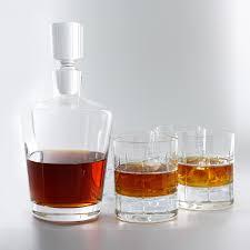 wine sets 5 whiskey decanter set wine enthusiast