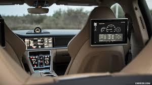 Porsche Panamera Back - 2018 porsche panamera turbo s e hybrid rear seat entertainment