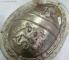vintage easter egg chocolate mold sweet item photo via web