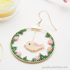 creole earrings diy bird creole earrings craftgawker