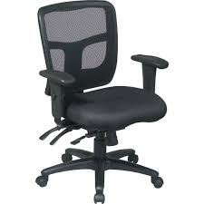 progrid mid back ergonomic manager u0027s chair quill com