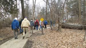 Matthiessen State Park Trail Map by Hike Starved Rock Buffalo Rock State Park 02 25 2016