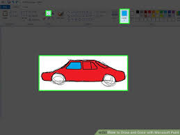 3 ways draw color microsoft paint wikihow