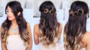 Simple But Elegant Hairstyles For Long Hair by Romantic Prom Hairstyle Collab With Simply Sona Youtube