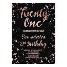 21st birthday cards u0026 invitations zazzle co uk