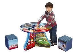 amazon com disney pixar cars track table and ottoman toys u0026 games