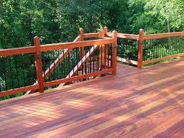 Ideas For Deck Handrail Designs Decor U0026 Tips Cedar Deck Handrail For Deck Railing Ideas With