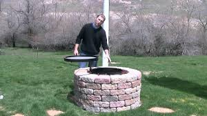 diy outdoor fire pit grill fire pit design ideas
