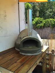 my custom pizza oven fire brick wood fired 900 degrees of