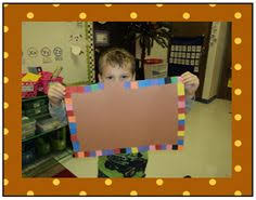 thanksgiving placemats for kiddies made with pictures of things