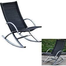 Patio Chair Recliner Outdoor Rocking Lounger Chair Recliner Patio Garden Furniture Seat