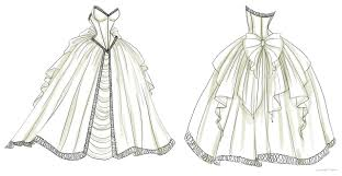 design a wedding dress wedding dress design 1 by noflutter on deviantart
