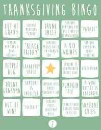 thanksgiving bingo will get you through the day huffpost