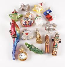 world glass ornament collection ebth