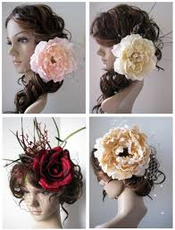 floral accessories couture floral accessories by snow dahlia s design diary