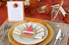 thanksgiving place settings ideas themontecristos