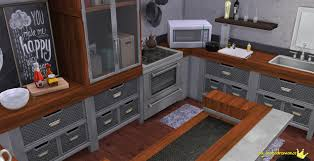my sims 4 blog kitchen and bar recolors by inabadromance