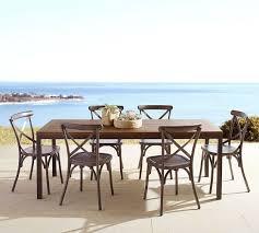 teak dining room furniture carmen teak rectangular dining table pottery barn