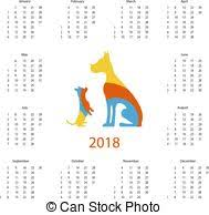 easter paschal vector calendar 2018 template desgn 2018 clip
