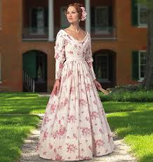 historical pattern review butterick 5832 misses historical dress