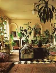 Jungle Home Decor Bohemian Interior Inspiration Bohemian And