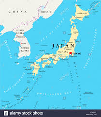 Asia Map Labeled by Kyushu Okinawa Japan Asia Map Stock Photos U0026 Kyushu Okinawa Japan