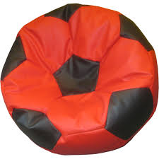 xxl soccer bean bag premium filled with beans