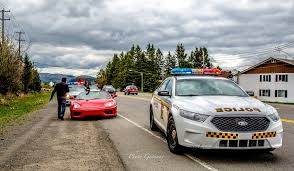 luxury car rental super car got pulled over police ferrari 360 modena montreal laval