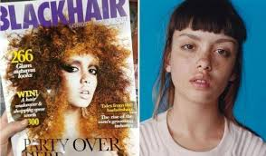 black hair magazine photo gallery black hair magazine photo gallery blackhair magazine accidentally uses white model on latest cover